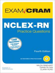 Foto Cover di NCLEX-RN Practice Questions Exam Cram, Ebook inglese di AA.VV edito da Pearson Education