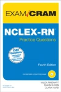 Ebook in inglese NCLEX-RN Practice Questions Exam Cram Hurd, Clara , Rinehart, Wilda , Sloan, Diann