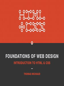 Ebook in inglese Foundations of Web Design Michaud, Thomas