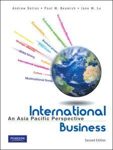 Foto Cover di International Business, Ebook inglese di Andrew Delios, edito da Pearson Education