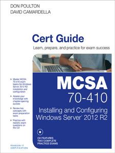 Ebook in inglese MCSA 70-410 Cert Guide R2 Camardella, David , Poulton, Don