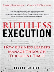 Ebook in inglese Ruthless Execution Hartman, Amir , LeGrande, Craig