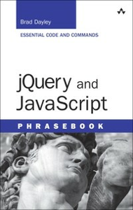Ebook in inglese jQuery and JavaScript Phrasebook Dayley, Brad