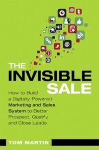 Ebook in inglese Invisible Sale Martin, Tom