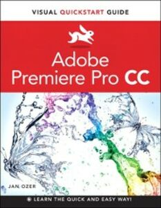 Foto Cover di Premiere Pro CC, Ebook inglese di Jan Ozer, edito da Pearson Education