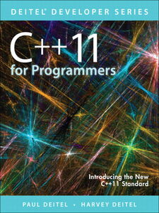 Foto Cover di C++11 for Programmers, Ebook inglese di Harvey M. Deitel,Paul Deitel, edito da Pearson Education