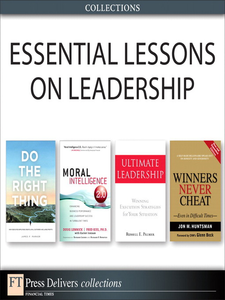 Ebook in inglese Essential Lessons on Leadership (Collection) Huntsman, Jon , Lennick, Doug , Parker, James F. , Ph.D., Fred Kiel
