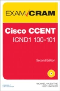 Foto Cover di CCENT ICND1 100-101 Exam Cram, Ebook inglese di Keith Barker,Michael Valentine, edito da Pearson Education