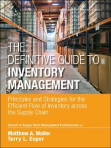 Ebook in inglese Definitive Guide to Inventory Management Esper, Terry L. , Waller, Matthew A.