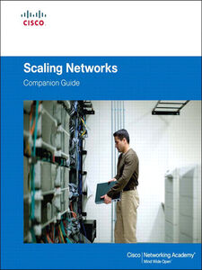 Foto Cover di Scaling Networks Companion Guide, Ebook inglese di Cisco Networking Academy, edito da Pearson Education