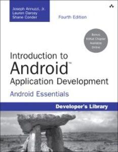 Foto Cover di Introduction to Android Application Development, Ebook inglese di AA.VV edito da Pearson Education