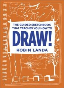 Ebook in inglese Guided Sketchbook That Teaches You How To DRAW! Landa, Robin