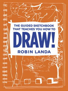Ebook in inglese The Guided Sketchbook That Teaches You How To DRAW! Landa, Robin