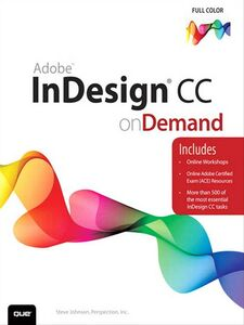 Ebook in inglese Adobe InDesign CC on Demand Inc., Perspection , Johnson, Steve