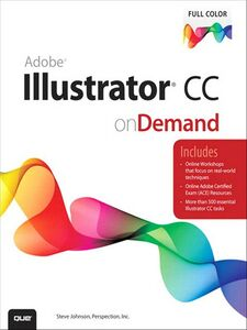 Ebook in inglese Adobe Illustrator CC on Demand Inc., Perspection , Johnson, Steve