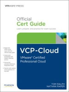Ebook in inglese VCP-Cloud Official Cert Guide Ralph, Tom , Raper, Nathan