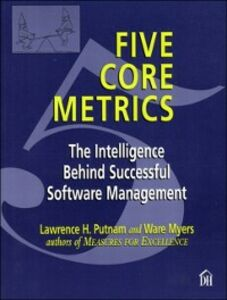 Foto Cover di Five Core Metrics, Ebook inglese di Lawrence Putnam,Ware Myers, edito da Pearson Education