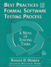 Best Practices for the Formal Software Testing Process