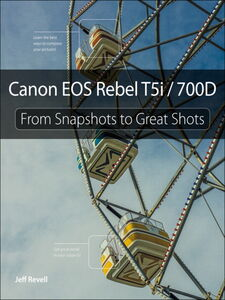 Foto Cover di Canon EOS Rebel T5i / 700D, Ebook inglese di Jeff Revell, edito da Pearson Education