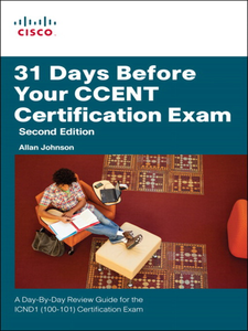 Ebook in inglese 31 Days Before Your CCENT Certification Exam Johnson, Allan