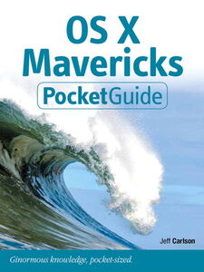 Ebook in inglese OS X Mavericks Pocket Guide Carlson, Jeff