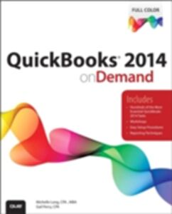 Ebook in inglese QuickBooks 2014 on Demand CPA, Gail Perry , Long, Michelle