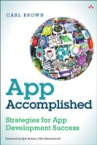 Foto Cover di App Accomplished, Ebook inglese di Carl Brown, edito da Pearson Education