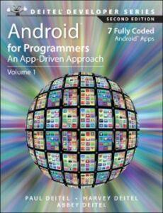 Foto Cover di Android for Programmers, Ebook inglese di AA.VV edito da Pearson Education
