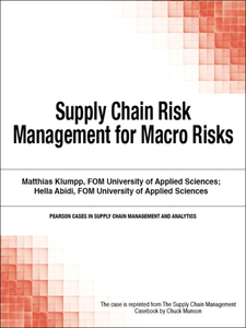 Ebook in inglese Supply Chain Risk Management for Macro Risks Munson, Chuck