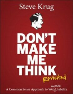 Ebook in inglese Don't Make Me Think, Revisited Krug, Steve