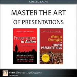 Ebook in inglese Master the Art of Presentations (Collection) Weissman, Jerry