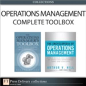 Foto Cover di Operations Management Complete Toolbox (Collection), Ebook inglese di Randal Wilson,Arthur V. Hill, edito da Pearson Education