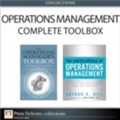 Operations Management Complete Toolbox (Collection)