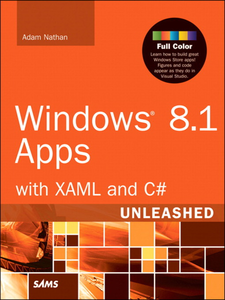 Ebook in inglese Windows 8.1 Apps with XAML and C# Unleashed Nathan, Adam