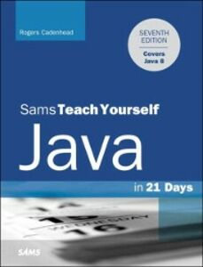 Ebook in inglese Java in 21 Days, Sams Teach Yourself (Covering Java 8) Cadenhead, Rogers
