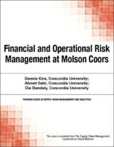 Ebook in inglese Financial and Operational Risk Management at Molson Coors Munson, Chuck