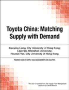 Foto Cover di Toyota China, Ebook inglese di Chuck Munson, edito da Pearson Education