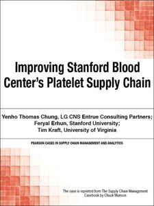 Ebook in inglese Improving Stanford Blood Center's Platelet Supply Chain Munson, Chuck