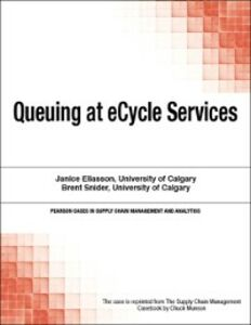 Foto Cover di Queuing at eCycle Services, Ebook inglese di Chuck Munson, edito da Pearson Education