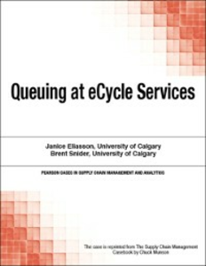 Ebook in inglese Queuing at eCycle Services Munson, Chuck