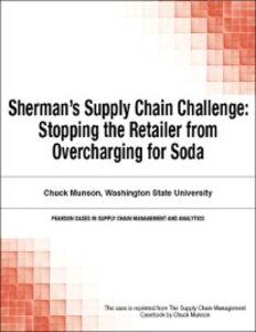 Ebook in inglese Sherman's Supply Chain Challenge Munson, Chuck