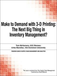Ebook in inglese Make to Demand with 3-D Printing Munson, Chuck