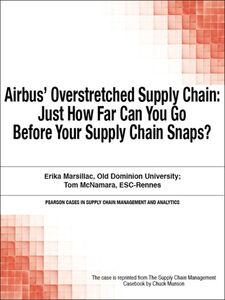Foto Cover di Airbus' Overstretched Supply Chain, Ebook inglese di Chuck Munson, edito da Pearson Education