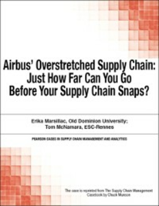 Ebook in inglese Airbus' Overstretched Supply Chain Munson, Chuck