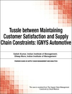 Ebook in inglese Tussle between Maintaining Customer Satisfaction and Supply Chain Constraints Munson, Chuck