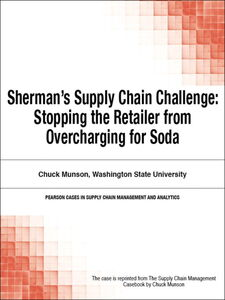 Ebook in inglese Sherman's Supply Chain Challenge Munson, Chuck