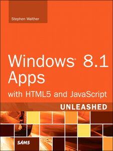 Ebook in inglese Windows 8.1 Apps with HTML5 and JavaScript Unleashed Walther, Stephen