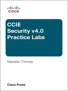 Foto Cover di CCIE Security v4.0 Practice Labs, Ebook inglese di Natalie Timms, edito da Pearson Education