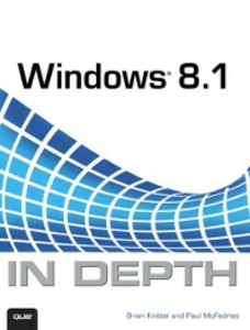 Ebook in inglese Windows 8.1 In Depth Knittel, Brian , McFedries, Paul