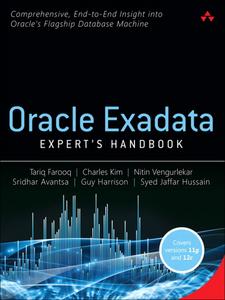 Ebook in inglese Oracle Exadata Expert's Handbook Avantsa, Sridhar , Farooq, Tariq , Harrison, Guy , Hussain, Syed Jaffar